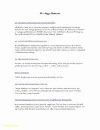 Resume Examples College Graduate No Experience New Photos Sample