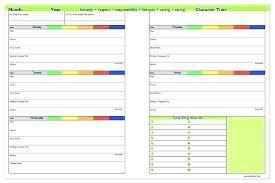 Weekly Homework Assignment Sheet School Assignment Template Best Template For School Schools