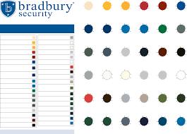 Standard Colour Chart Bradbury Group Colour Chart Ral 1015