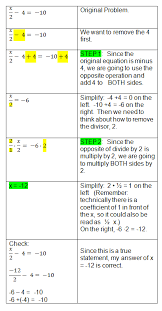 two step algebra equations two step equations lots of examples and