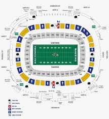 Byrd Stadium Seating Chart Baltimore Ravens Stadium Map M T Bank Diagrams Ravens