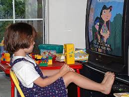 Image result for little girls watching tv