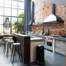 Get the look - modern industrial kitchens | Smooth concrete, Cleaning  stainless steel and Reclaimed timber