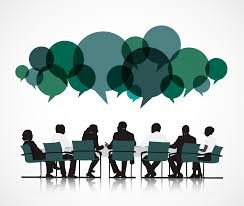 business meeting conversation job interview teamwork icon  meeting icon png image 3242