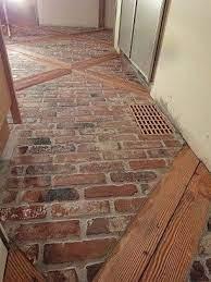 brick floor kitchen farmhouse flooring