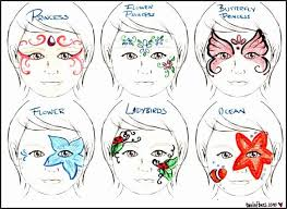 free printable face painting designs ideas