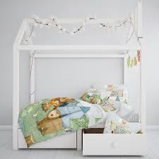 personalised cot toddler bed quilt