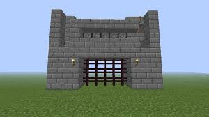 minecraft gate. Automatic Gate For Castles Minecraft Gate