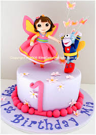 Dora The Explorer Birthday Cake Dora The Fairy Cake Birthday Cakes