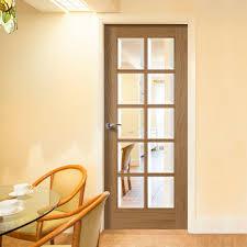 special glass pane door pane oak door with bevelled clear glass p m mendes glazed doors