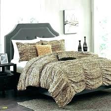 leopard print comforter sets set king size animal twin fo
