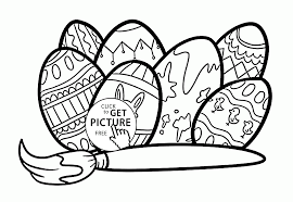 Small Picture Easter Eggs Patterns coloring page for kids coloring pages