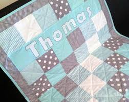 Baby quilt | Etsy & Baby Cot Quilt - Thomas Adamdwight.com