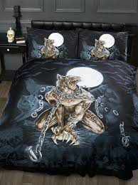gothic bed sheets wolf bedding sets full best and more images on leopard bed sheets
