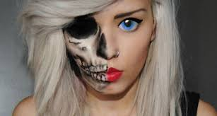 pretty and skull image