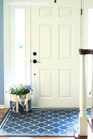 N Front Door Rugs Outdoor Indoor Entry Brilliant New  Entrance Foyer Inside
