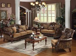 traditional living room furniture ideas. largest sofa sets collection the dreena traditional 3 pc bonded leather and chenille set loveseat chair acme furniture is crafted with living room ideas i