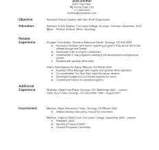 Resume Templates Unique Template Samples Cv For Free Format