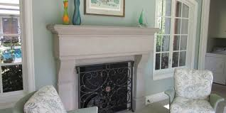 add a unique focal point to your room with a custom hand carved fireplace