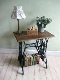 antique sewing machine table ideas to recycle your old sewing machines in furniture with vine sewing