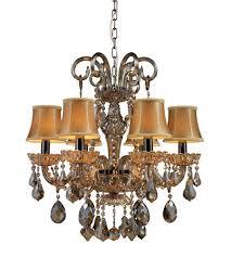 elk lighting jolianne 6 light chandelier in black nickel 24001 6 photo