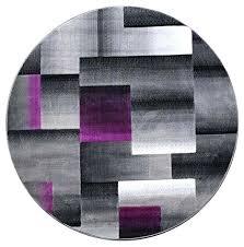 contemporary round area rugs com modern rug purple houston tx round rug