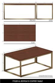 Typical Coffee Table Size Building Our Own Coffee Table Visual Vocabularie