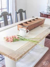 old door to new one of a kind dining table february create and share challenge pocketful of posies