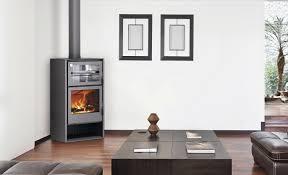 wood heating stove contemporary corner metal atlas carbel