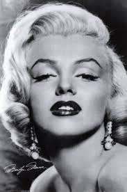 next es the eyebrows which are essential to define as they frame the face the high pointed eyebrow of marilyn is created by first brushing the inner