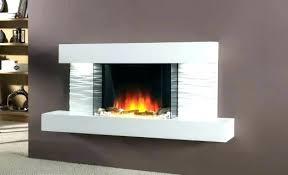 wall mount electric fireplace heater mounted best powerheat infrared quartz hanging fi