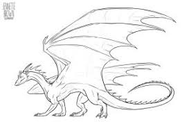 template of a dragon dragon lineart template 1 by sugarpoultry on deviantart