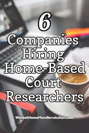 best job prep images job interviews resume 6 companies that hire home based court researchers