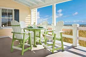 poly lumber furniture. Simple Lumber Outdoor Poly Lumber Furniture  Bright Beautiful Durable Lime Green And  White Combo Throughout R