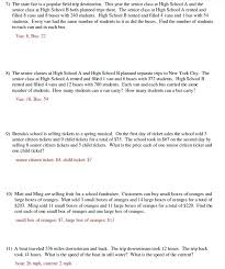 equations word problems worksheet the best worksheets image collection and share algebraic algebra grade 8
