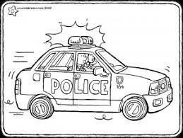 Kleurplaten Politie Auto