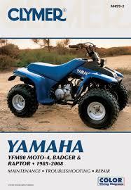 yamaha yfm80 moto 4 badger raptor 1985 2008 clymer color yamaha yfm80 moto 4 badger raptor 1985 2008 clymer color wiring diagrams penton staff 9781599692364 amazon com books