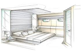 Interior Design Sketches Intention For Complete Home Furniture 27