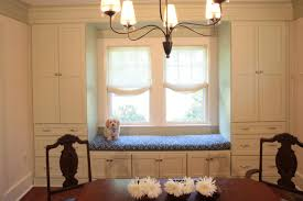 ... Beautiful Cushions For Window Seats : Amusing Ideas For Window Seats  Surround With Wall Storages Cabinet ...
