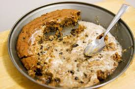 how to make a pizookie or a pizza cookie recipe