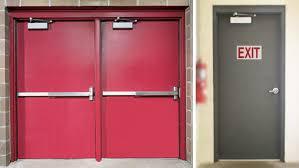 fire rated steel doors