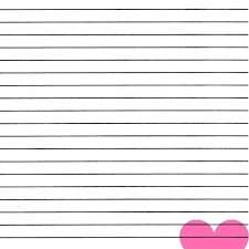 Lined Paper Template Word Templates Document With Pretty