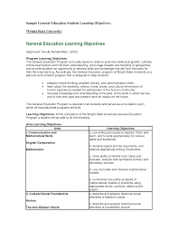 Example Objective For Resume Unique General Resume Objective Statement Examples In Labor 81