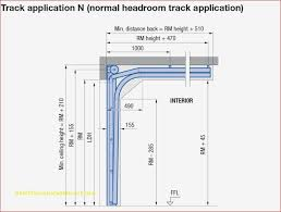 overhead garage door dimensions for new
