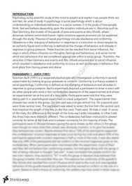 psych unit complete notes year vce psychology thinkswap social psychology essay