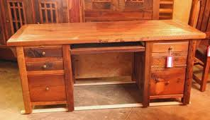 wooden office desks. Rustic Reclaimed Barn Wood Desk Wooden Office Desks