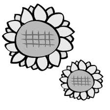 画像 923 花のかわいい無料イラスト集白黒カラー Web素材 All