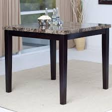 counter height dining table. Contemporary 42 X Inch Counter Height Dining Table With Faux Marble Top