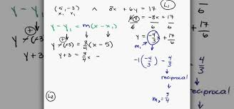 how to find the perpendicular line to a given equation math wonderhowto