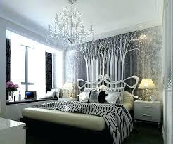 black chandelier bedside lamps art over bed best wall ideas bedroom